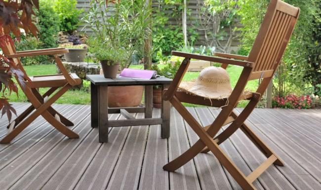 Terrasse bois composite La Baule Guérande Saint Nazaire